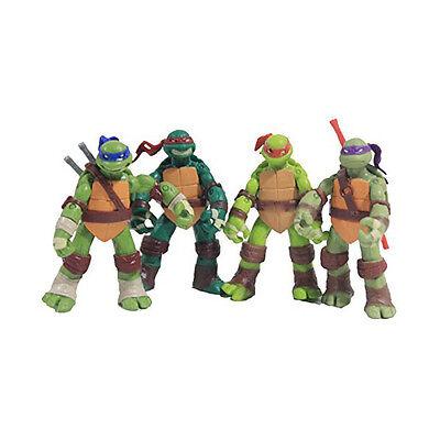 """4PCs 5"""" TMNT Teenage Mutant Ninja Turtles Classic Collection Movie Action Figure"""