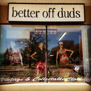 Better Off Duds ~ Vintage & Collectable Clothing