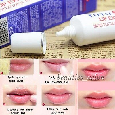 1pc Clear Lip Exfoliating Gel Magical Moisturizing Portable Lip Exfoliator Care
