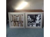 Library Books & Marilyn Monroe Pictures