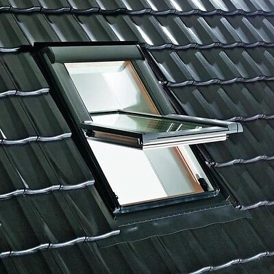velux bzw roto dachfenster schwingfenster holz 74 x 118 cm ebay. Black Bedroom Furniture Sets. Home Design Ideas