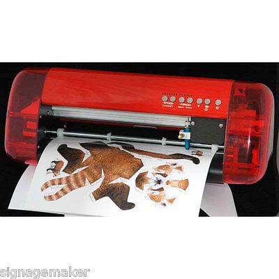 CUTOK A4 Mini Vinyl Sign Cutter Plotter Desktop Cutter with Contour Cut Function