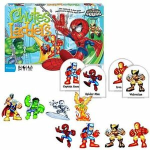 Preschool Marvel Super Heroes Squad Chutes & Ladders Game NEW