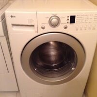 Laveuse LG frontale, washing machine $275