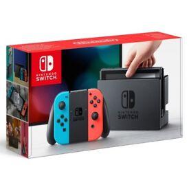 Nintendo Switch Neon Red/Blue