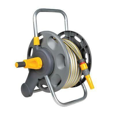 Hose Reel with 25m Garden Hose Pipe -  2431