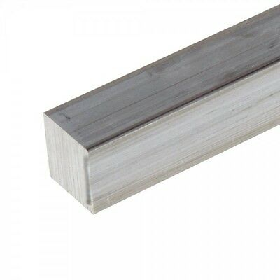 3 Aluminum 6061 Square Bar X 9