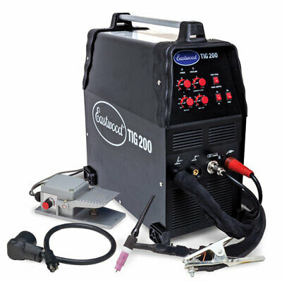 Eastwood Tig 200 Acdc Aluminum Welder Machine Hight Frequancy Start Inverter