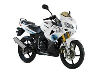 Lexmoto XTRS 125cc - 2 Year Parts Warranty - Finance Available