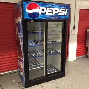 Double Door Pepsi Refrigerator