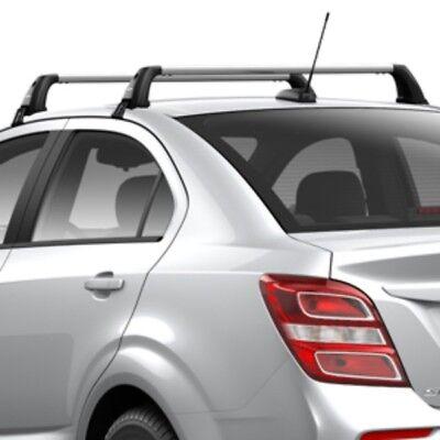 2019 Cadillac XT4 Roof Rack Cross Rails Satin Chrome 84486224 OEM GM