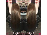 Hair extensions / Micro rings / Nano rings / Keratin bonding