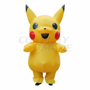 Inflatable Pikachu Costume - Adult Size