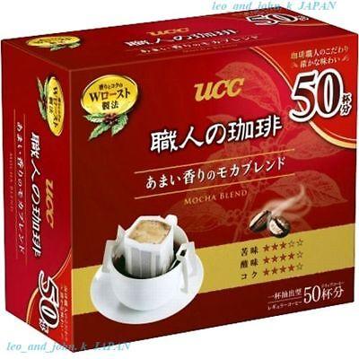 UCC drip coffee Mocha blend sweet scent box Lots 50 bags 350g Japan tasty F/S