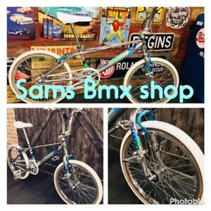 YOUR #1 STOP SHOP FOR MID - OLD SCHOOL NEEDS.@.Sam's Bmx Shop