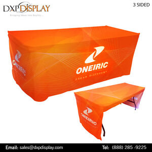 Custom Printed Table Runner with Best Outfit