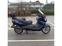 Suzuki burgman 650cc maxi scooter, may deliver