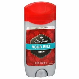 Old Spice Red Zone Deodorant Solid, Aqua Reef 3 oz