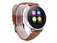 NEW, boxed K88H Bluetooth 4.0 Smart Watch BROWN