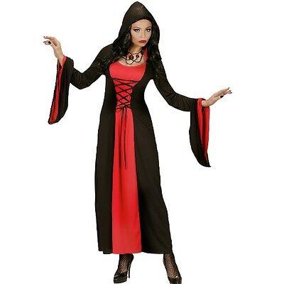 Halloween Kostüm Gothic Lady Hexe Vampirin 46/48 XL Mittelalter Kleid mit - Alte Hexe Kostüm