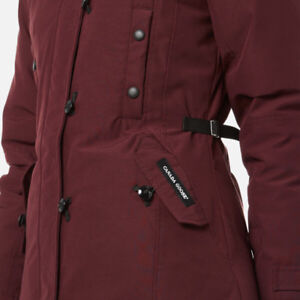 Orig. Canada Goose Kensington Parka - Medium $650 Plum Color
