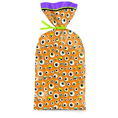 Eyeballs Halloween Party Treat Bags 20 ct from Wilton 9057 NEW (Halloween Eyeball Treats)