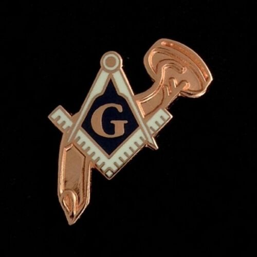 "Masonic ""Rusty Nail Degree"" Lapel Pin (RND-1)"