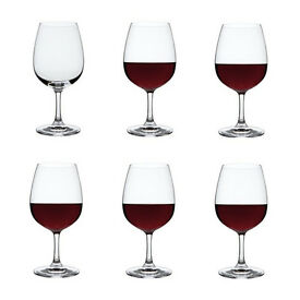Red Wine Glasses by Dartington Crystal - set of 4 - brand new in box - £10