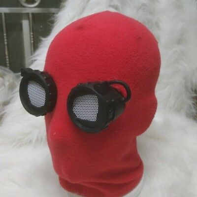 SpiderMan Homecoming Spider Man Red Eye Mask Peter Park Halloween Cosplay - Spider Eye Halloween