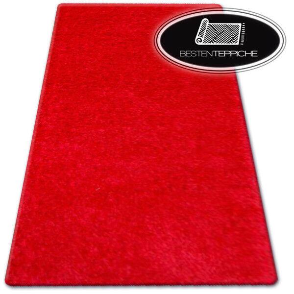 """billig weich teppiche """"SHAGGY NARIN"""" rot - 160 x 220 cm - GROßER VERKAUF -70%"""