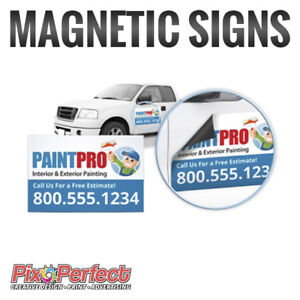 ★Heavy Duty Magnetic Sign Printing For Car Doors ✂$5 COUPON