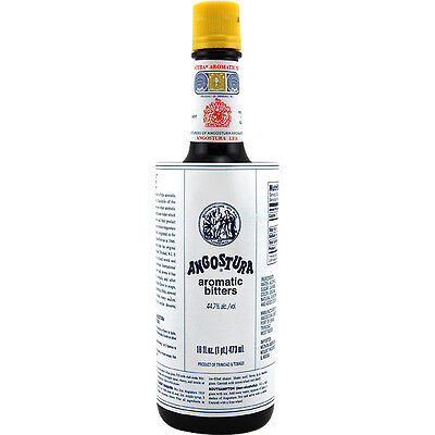 Angostura Aromatic Cocktail Bitters - 16 oz Bottle - Bar Drink Flavoring Mixer