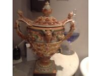 Rare huge antique vase urn looks great