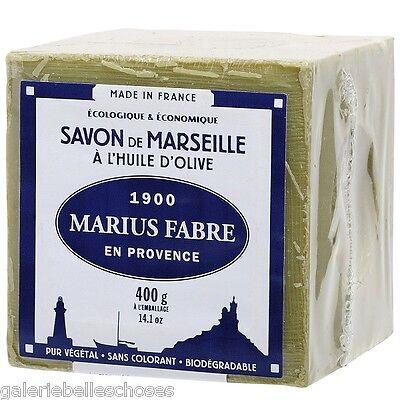 2x 400 g Le Cube Marseiller Seife Savon de Marseille Marius Fabre Olivenöl