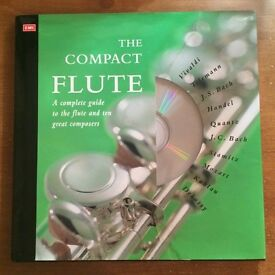 Children's music book about the flute with cd