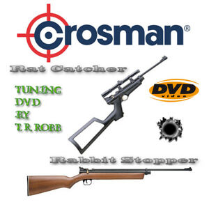 CROSMAN Rabbit Stopper, Ratcatcher & 2240 Variants Tuning & Dismantling DVD