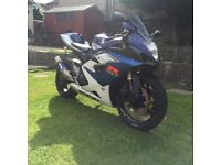 K5 GSXR 1000, May p/X Low miles