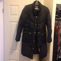 Down and waterfowl filled winter parka