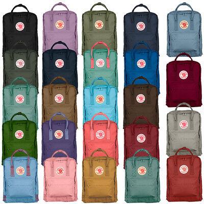 Hot Fjällräven Kanken 16L Rucksack Schule Sport Freizeit Trend Tasche Backpack!!