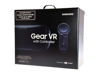 Brand New Samsung Gear VR Headset with Controller - Sealed
