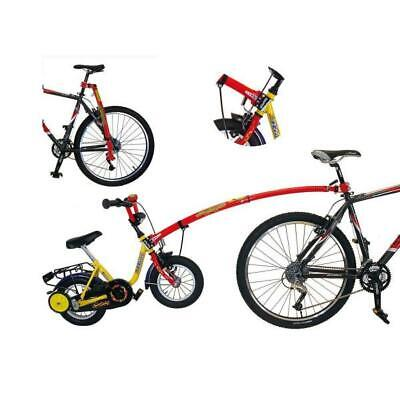 Children Trailer Tow Bar Attachment Bicycle Accessory Training Wheel Aid (Trail Gator Childrens Red Trailer Tow Bar)