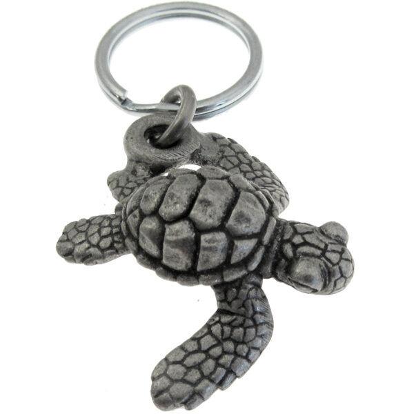 Baby Loggerhead Sea Turtle Keychain or Zipper Pull