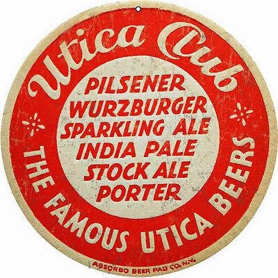 Reproduction Utica Club Pilsener Beer Sign