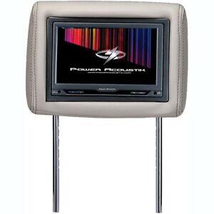 "Power Acoustik H-9 Universal Replacement Headrest 9"" LCD Monitor"