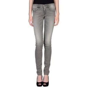 Diesel Grey Stretch Jeggings / Skinny Jeans - Size 25
