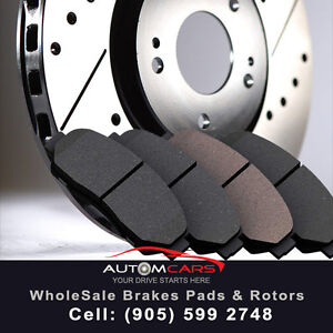 """Brake Pads***&***Rotors Set""^*^Contact at ""AutomCars_!"""