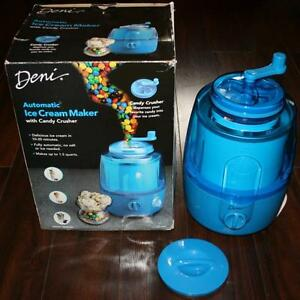 Deni Automatic Ice Cream Maker with Candy Crusher