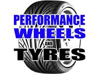 """NEW AND PART WORN TYRES - FROM 10"""" - 24"""" - FREE FITTING"""