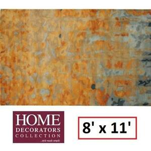 NEW WATER COLOR AREA RUG 8x11FT 1057330530 154121950 RUGS CARPET FLOORING DECOR ACCENTS MATS PADS Home Decorators Col...
