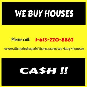 In a Hurry to Sell Your Ottawa House??